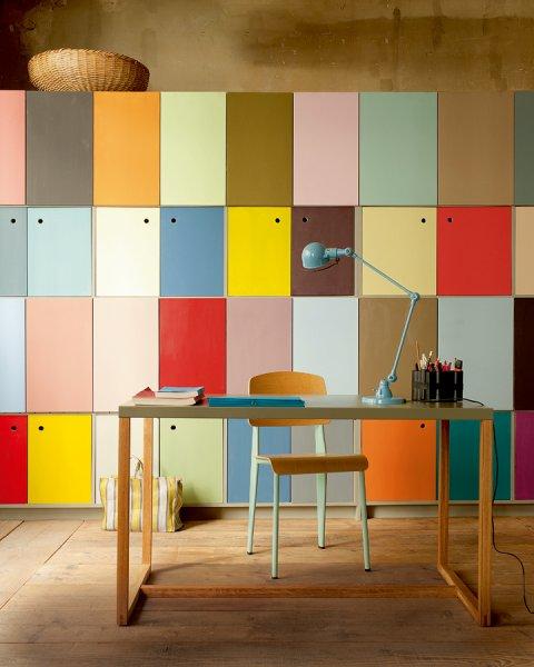 bureau-couleur-casiers-rangement