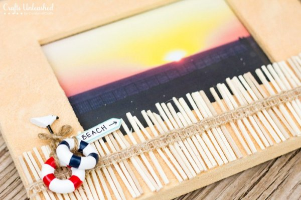 Summer-Beach-DIY-Frame-Picture-Crafts-Unleashed-3