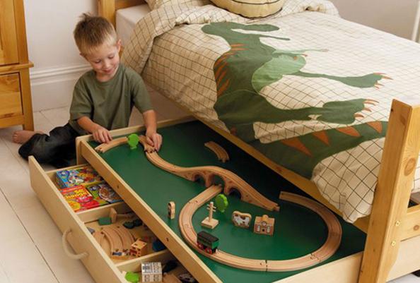 Hidden-toy-storage-under-bed